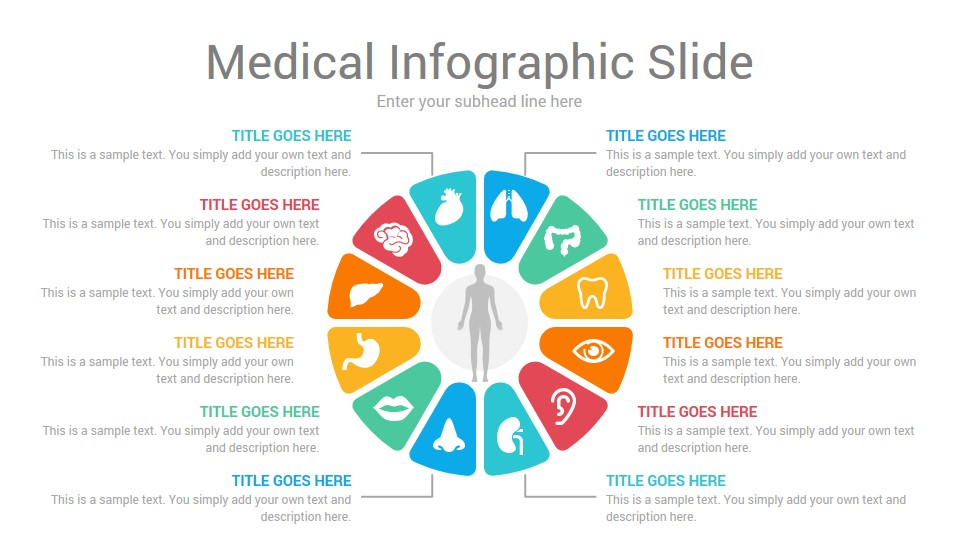 Medical Healthcare Infographics PowerPoint Template and Themes
