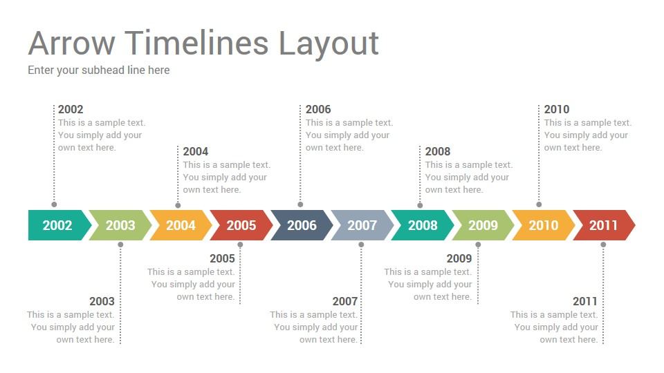 Timelines Diagrams Keynote Template - SlideSalad