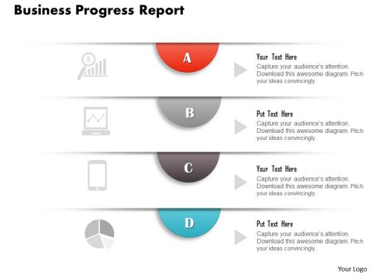 0314 Business Ppt Diagram Business Progress Report Powerpoint