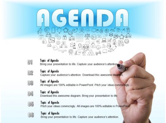 0714 business consulting write an agenda for a meeting powerpoint - meeting agenda template powerpoint