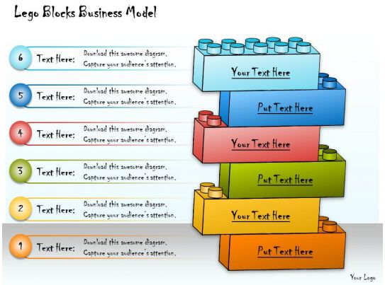 Business Resources Case Studies Analyzing A Case Study 1013 Business Ppt Diagram Lego Blocks Business Model
