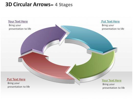 Smartart Powerpoint Template Circular Diagram Templates For - smartart powerpoint template