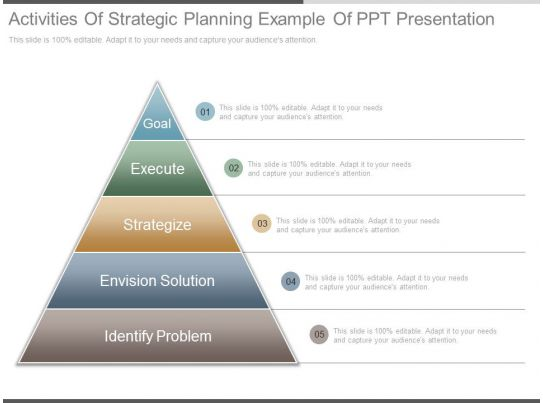 Image For Strategic Plan Powerpoint Presentation