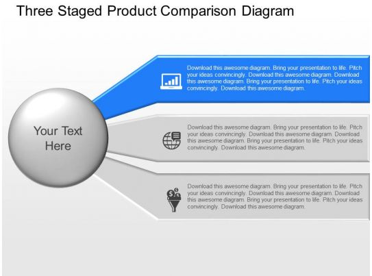 product comparison template powerpoint - product pitch template