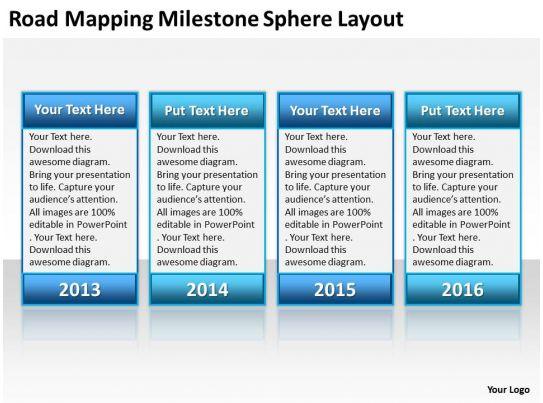 Powerpoint Designs Powerpoint Presentation Slideworld Business Context Diagrams Milestone Sphere Layout