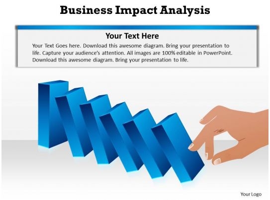 Business Impact Analysis Cdnttgtmedia Business Impact Dominoes Falling Cause And Effect Analysis