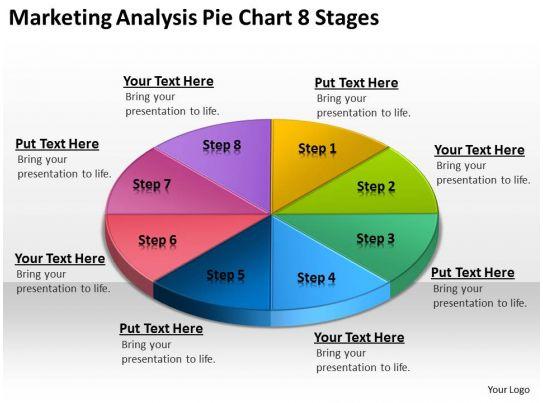 Harvard Business School Case Study Gender Equity Business Process Flowchart Marketing Analysis Pie 8 Stages