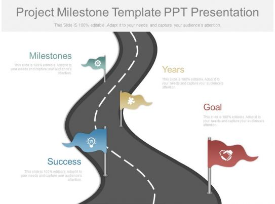 Project Milestone Template Ppt Download Project Milestone Template - project milestone template ppt