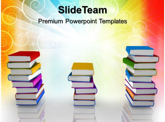Education Templates For Powerpoint Books Ppt Themes PowerPoint - Powerpoint Books