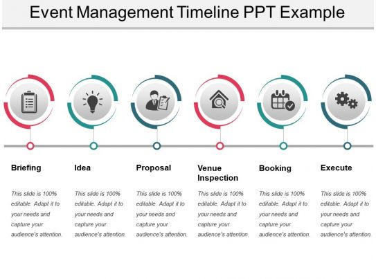Event Management Timeline Ppt Example PowerPoint Presentation