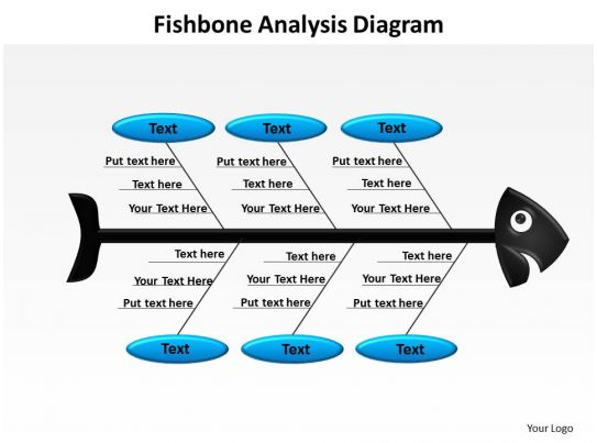 fishbone analysis diagram powerpoint diagram templates graphics 712 - fishbone template powerpoint