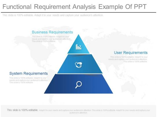 Functional Requirement Analysis Example Of Ppt PowerPoint - requirement analysis