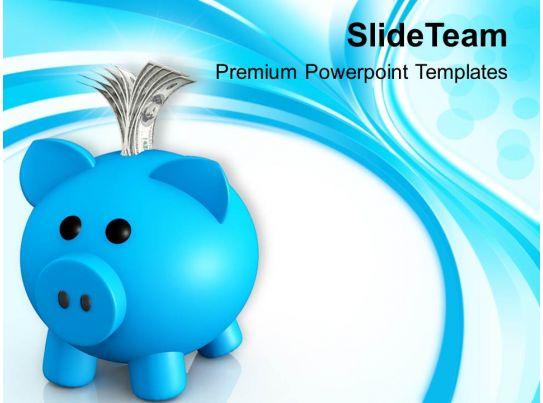 Piggy Bank Money Box Powerpoint Templates Ppt Backgrounds For Slides - money background for powerpoint