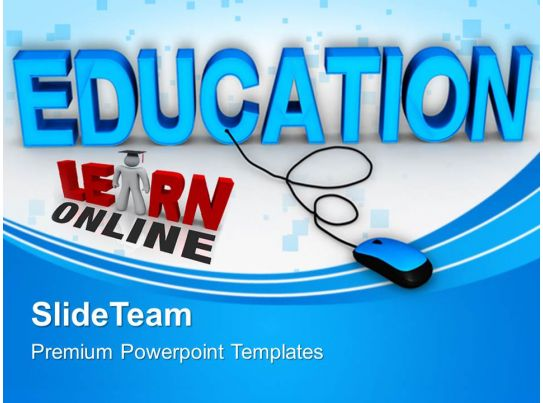 Powerpoint Templates Training Online Education Chart Ppt