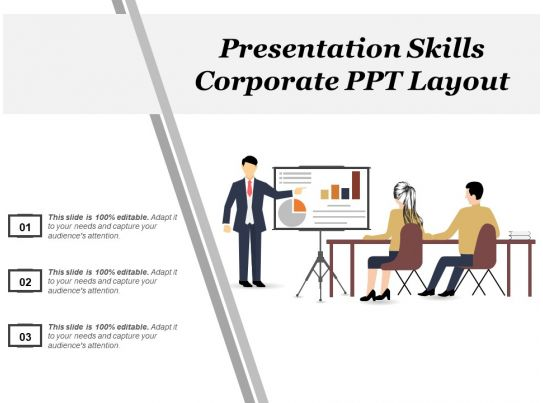 Presentation Skills Corporate Ppt Layout PowerPoint Slide
