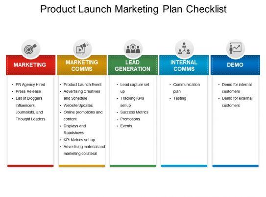 product launch plan pdf
