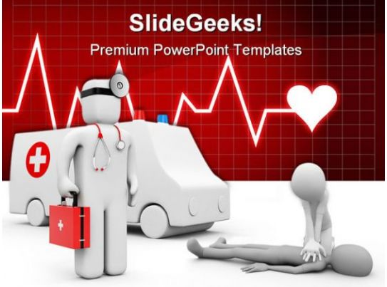 Ambulance Medical PowerPoint Templates And PowerPoint Backgrounds