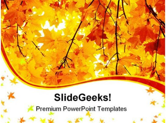 autumn powerpoint templates