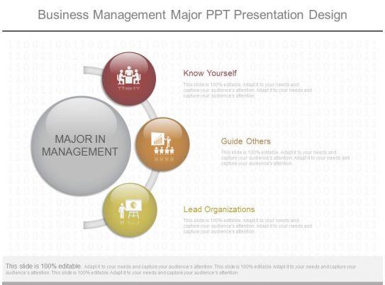 1 Business Management Major