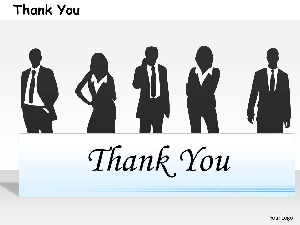 0314 Thank You Business Design Presentation PowerPoint Templates