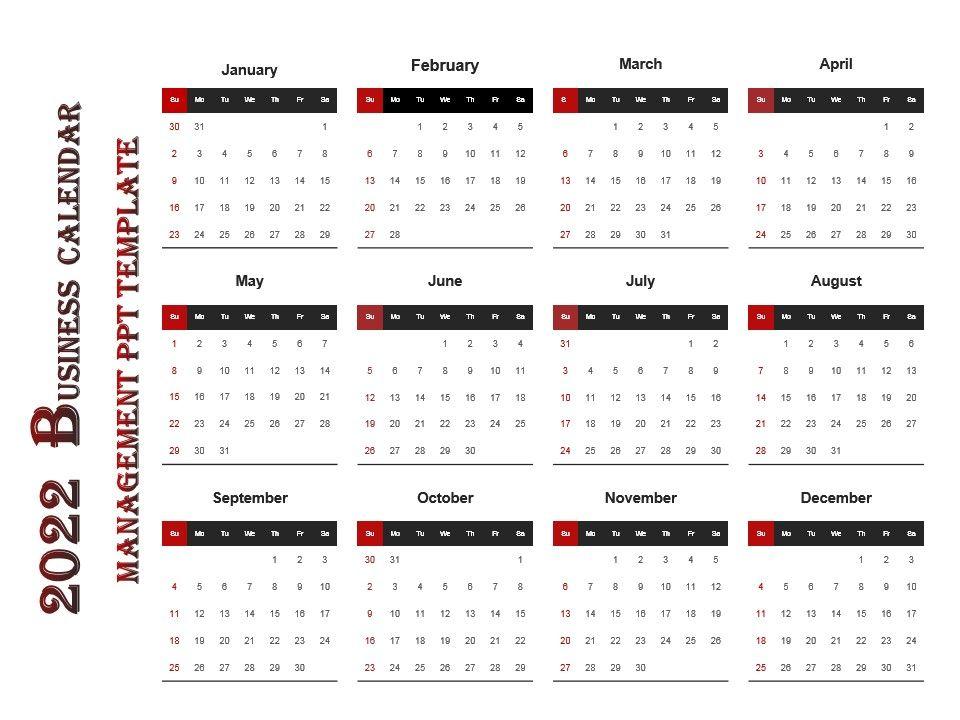 Google Calendar Create Venn Google 2022 Business Calendar Management Ppt Template