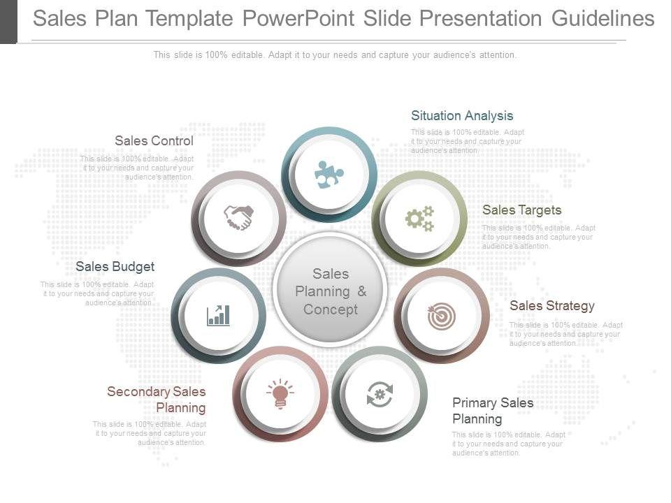 Sales Planning Powerpoint Slide Presentation Examples Presentation