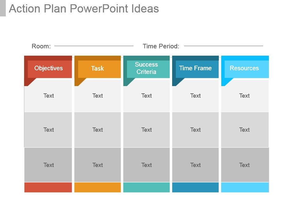 Action Plan Powerpoint Ideas PowerPoint Templates Designs PPT