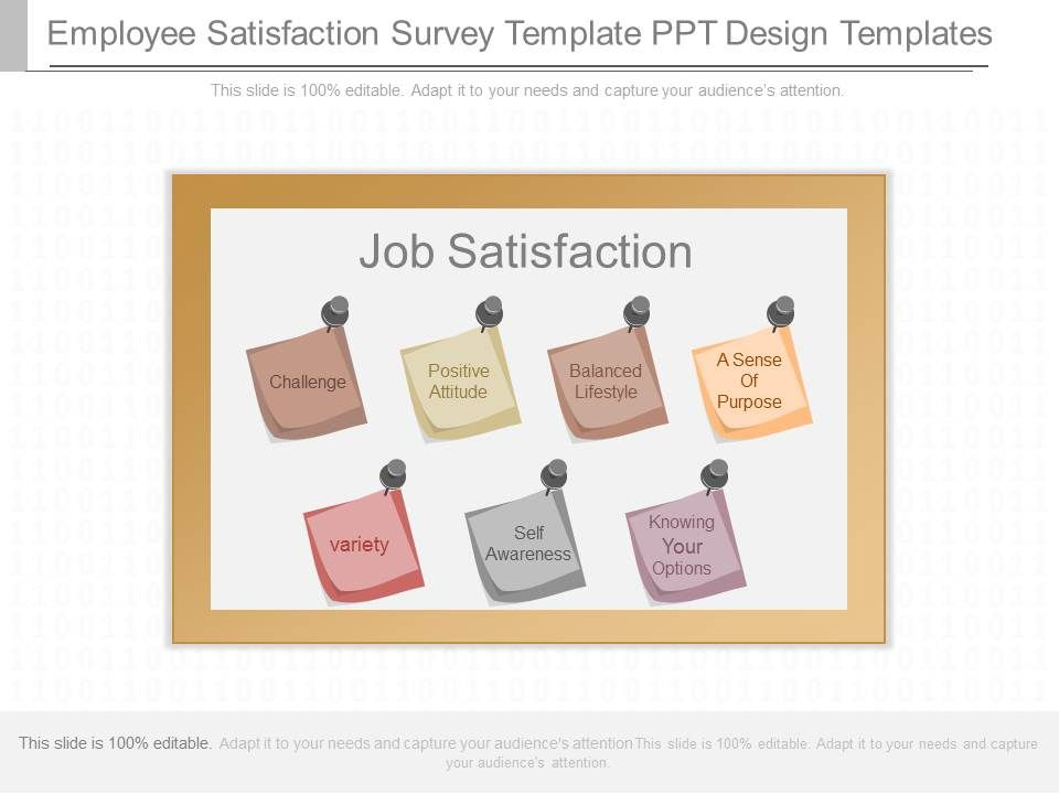 App Employee Satisfaction Survey Template Ppt Design Template - sample employee satisfaction survey