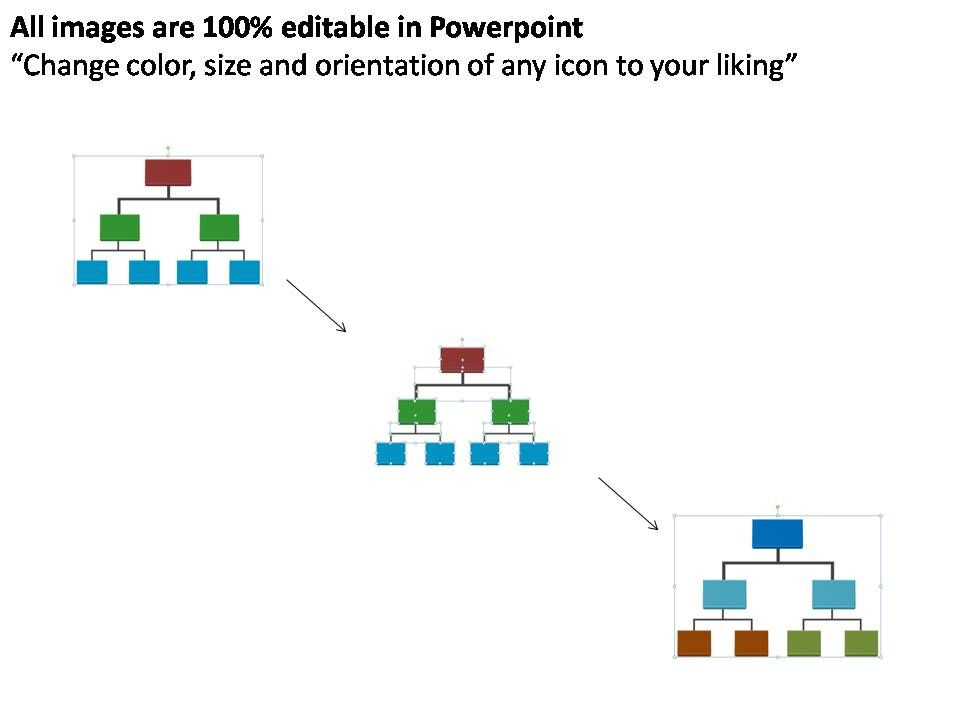 basic organization chart editable powerpoint templates PowerPoint