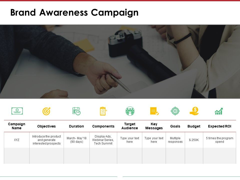 Brand Awareness Campaign Powerpoint Layout Templates 1 PowerPoint