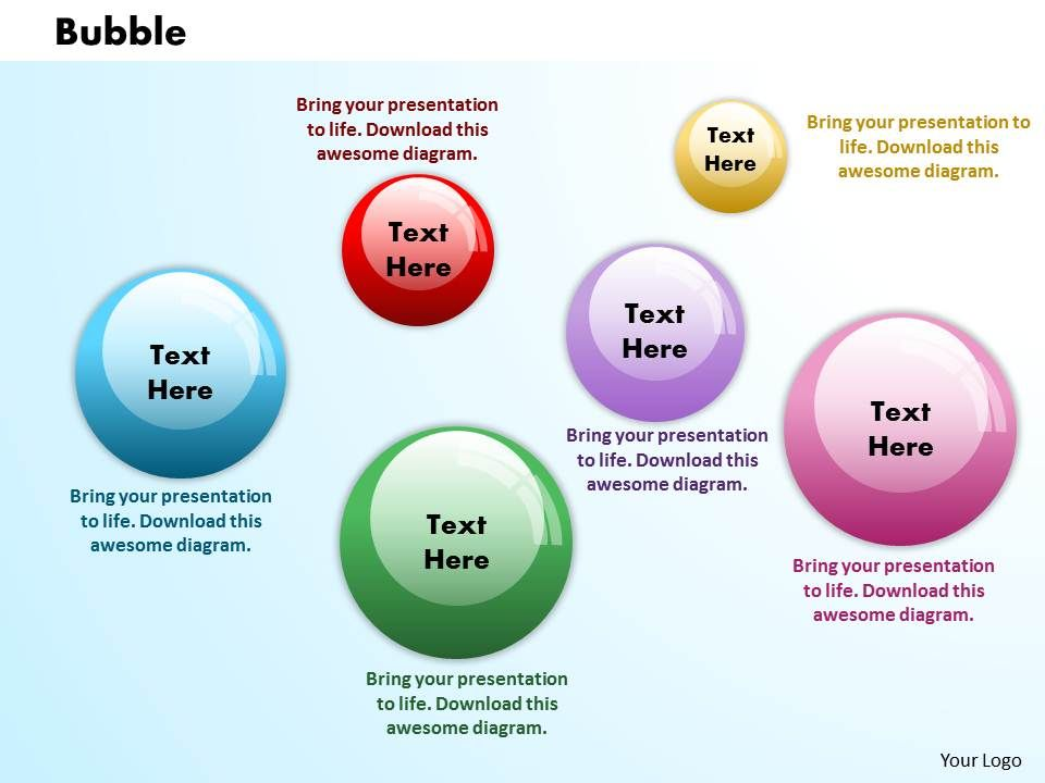 Bubbles PowerPoint Template Slide 1 Presentation PowerPoint Images - bubbles power point