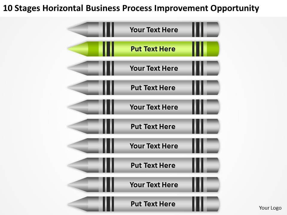 Business Flowchart Examples Horizontal Process Improvement