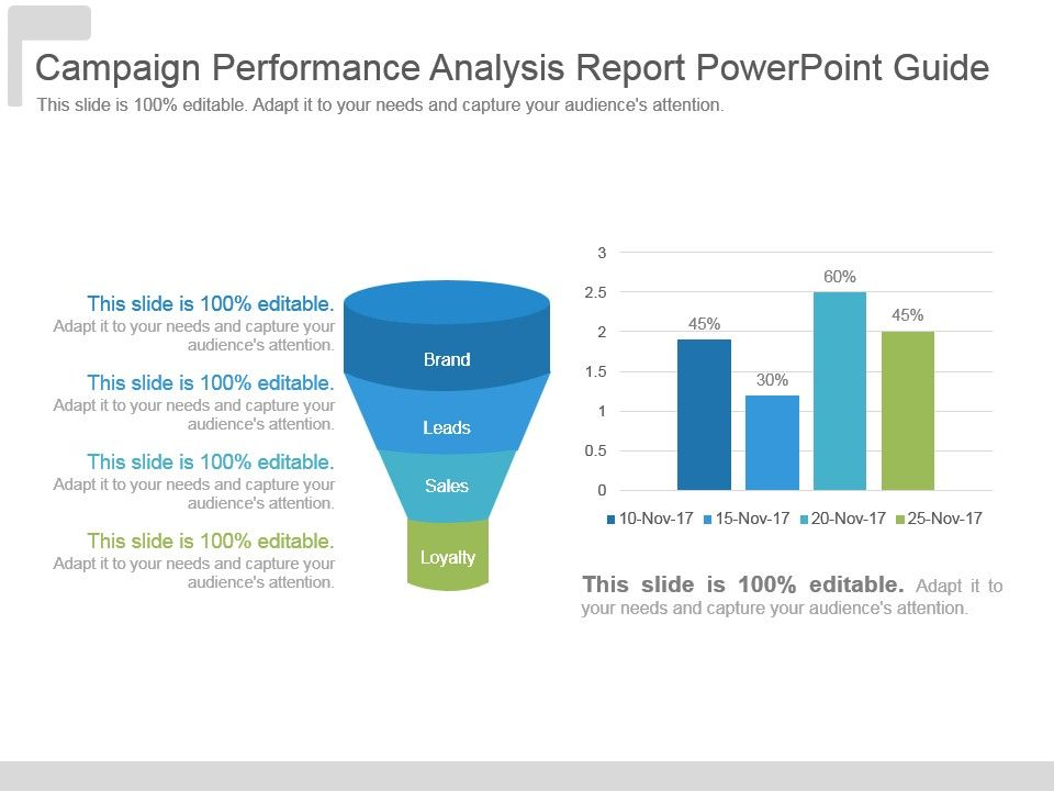 Campaign Performance Analysis Report Powerpoint Guide PowerPoint