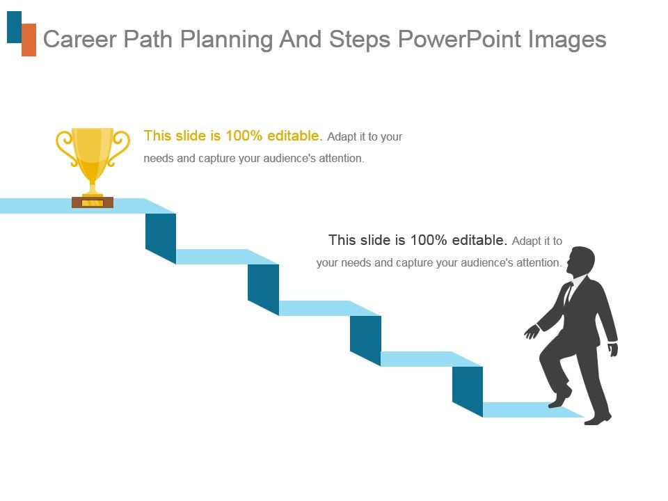 Career Path Planning And Steps Powerpoint Images PowerPoint Slides - planning a career path