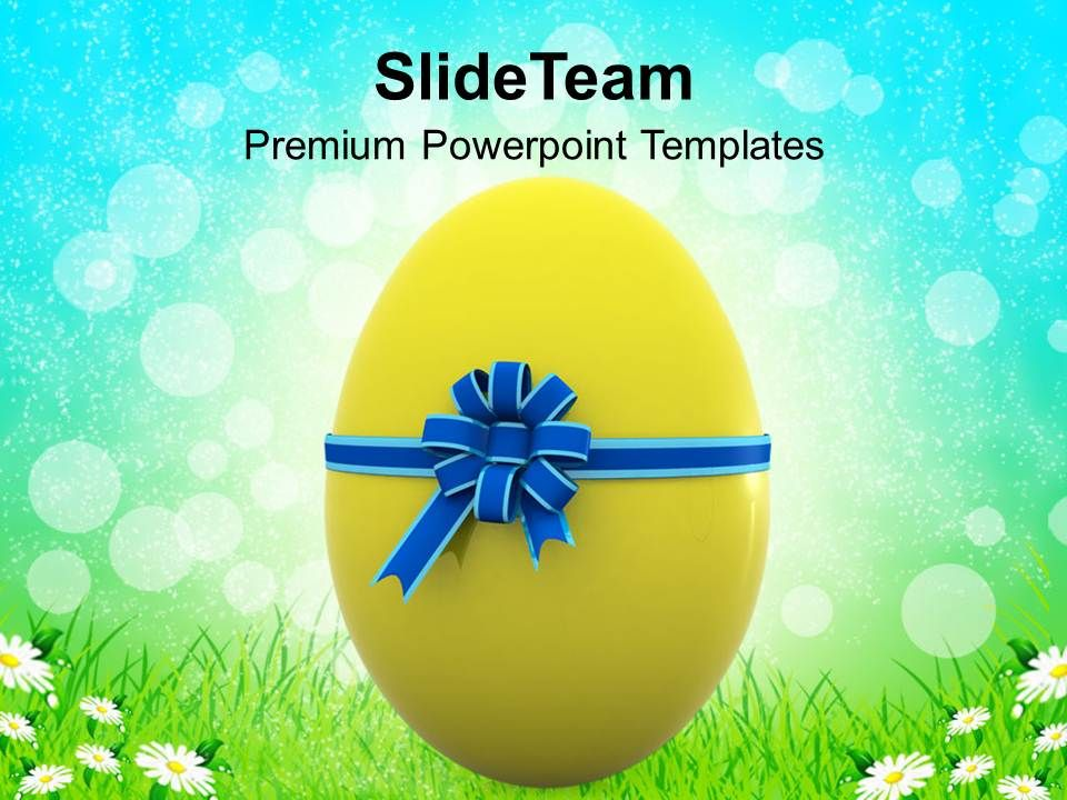 Christ Easter Egg For Someone Special Powerpoint Templates Ppt