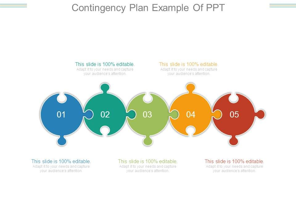 Contingency Plan Example Of Ppt PowerPoint Templates Download - contingency plan example