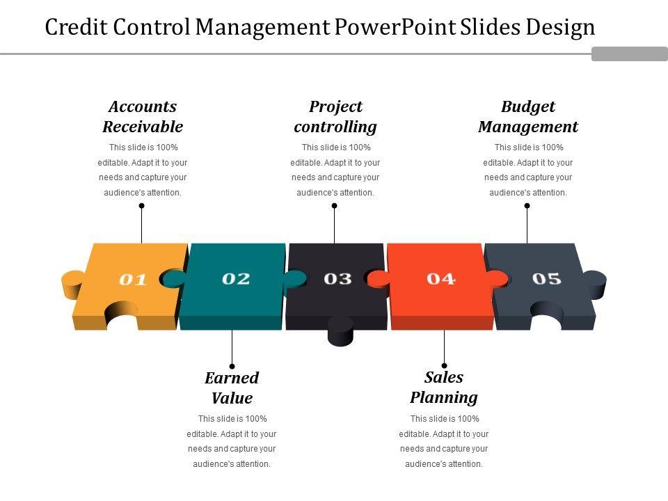 Credit Control Management Powerpoint Slides Design Presentation