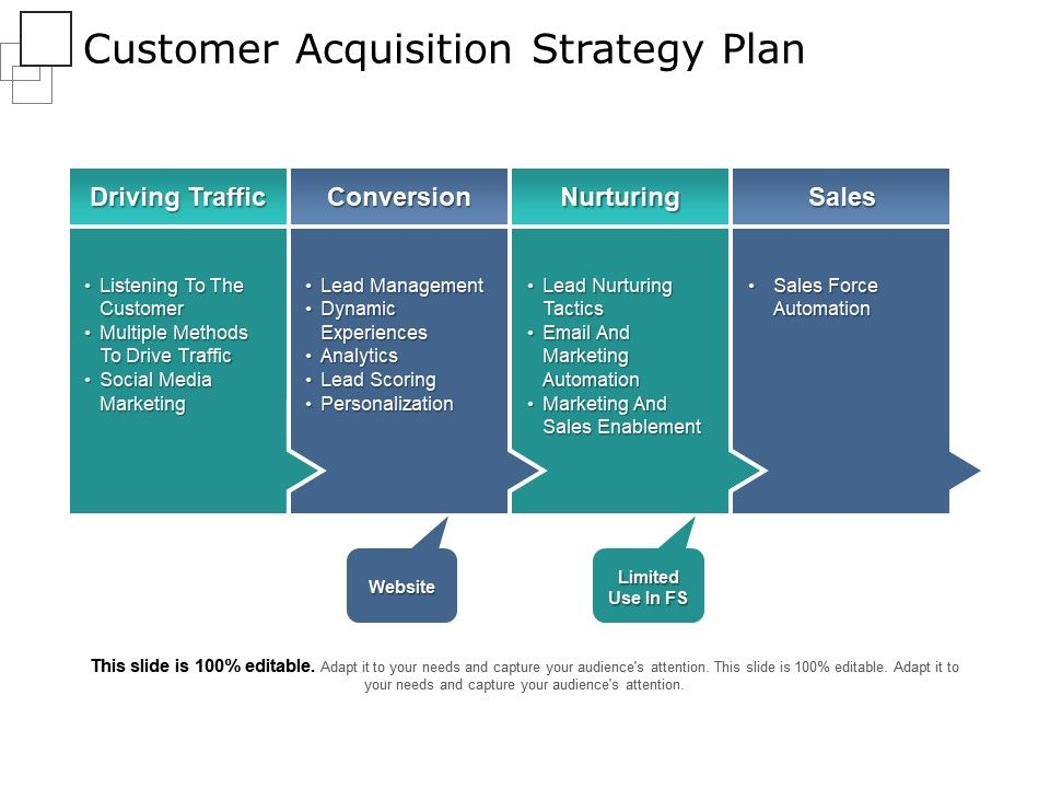 Customer Acquisition Strategy Plan Powerpoint Slide Show Graphics - acquisition strategy