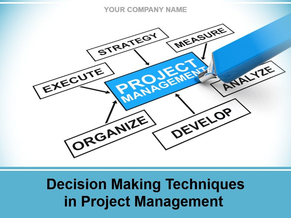 Decision Making Techniques In Project Management Powerpoint - Presentation Project
