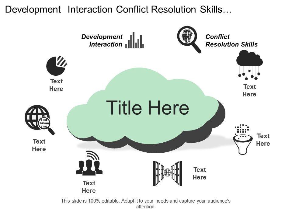Development Interaction Conflict Resolution Skills Development - presentation skills ppt