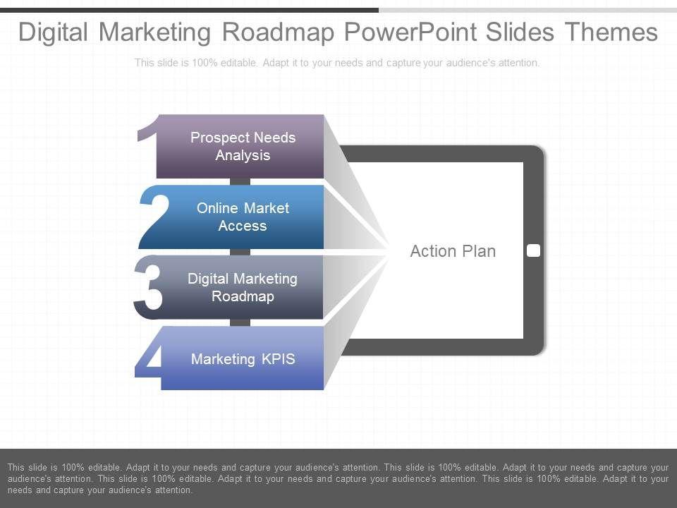 Powerpoint Roadmap Slide cvfreepro