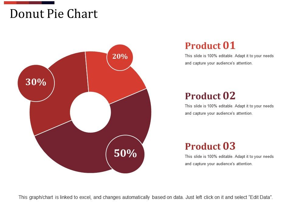 Donut Pie Chart Powerpoint Shapes Template 2 PowerPoint - donut template