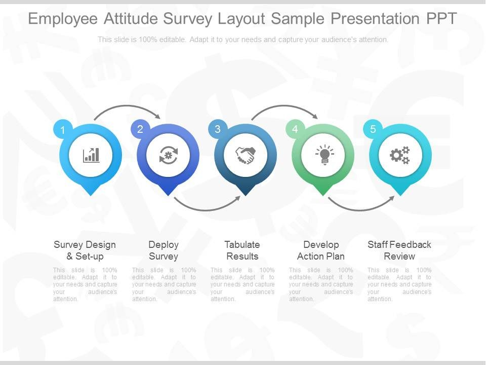 Download Employee Attitude Survey Layout Sample Presentation Ppt - Employee Presentations