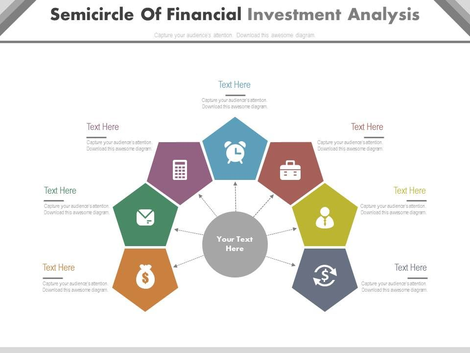 dv Semicircle Of Financial Investment Analysis Flat Powerpoint