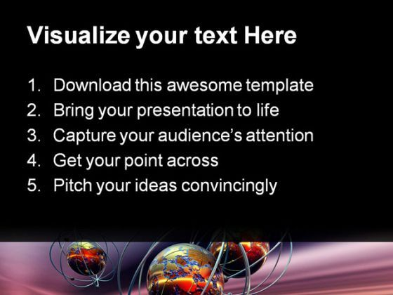 Earth Science Technology PowerPoint Templates And PowerPoint - powerpoint about science