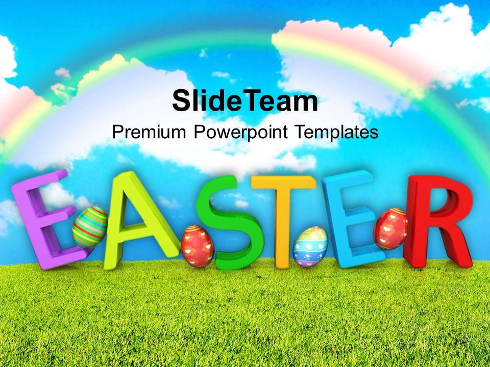 Sample Easter Powerpoint Template  StaruptalentCom