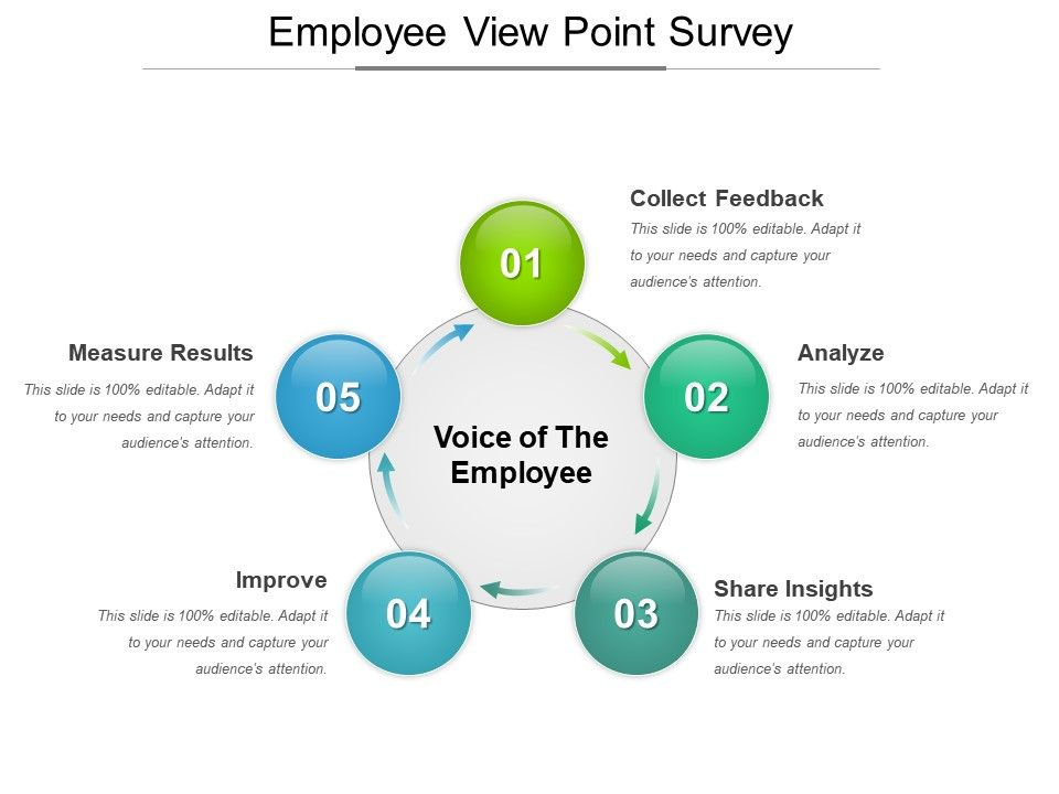 Employee Viewpoint Survey Powerpoint Slides Presentation - Employee Presentations