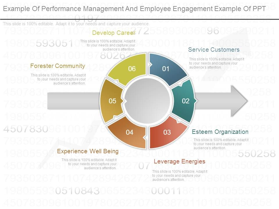Example Of Performance Management And Employee Engagement Example Of - Employee Presentations