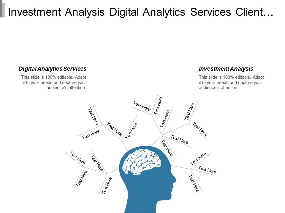 Investment Analysis Digital Analytics Services Client Financial