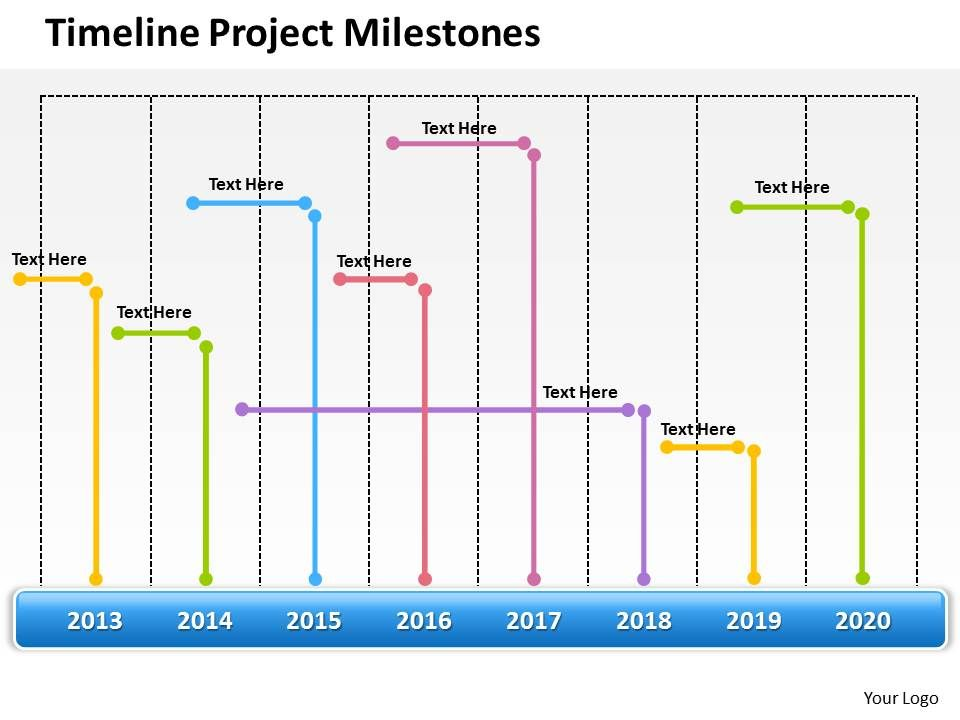 Management Consultant Business Timeline Project Milestones - project milestone template ppt